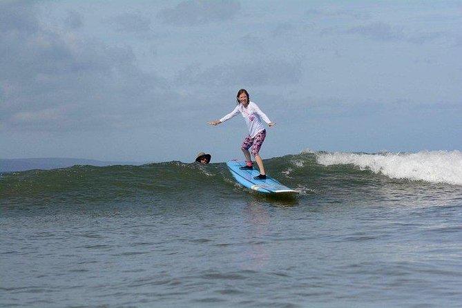 Semi-Private Surf Lesson at Kalama Park in Kihei