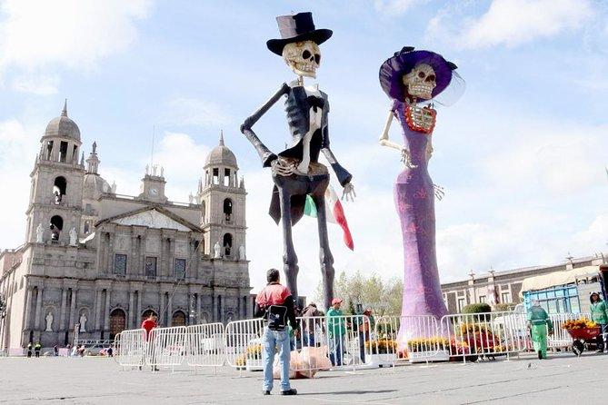 Day of the Dead in Feria del Alfenique Toluca