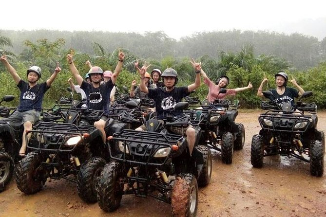 Sea Cave Kayaking at Bor Thor Krabi with ATV Riding