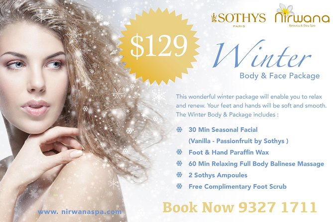 Winter Body & Face Package