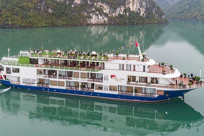 Halong Bay 2 days 1 night on Mon Cheri Cruise 5 star