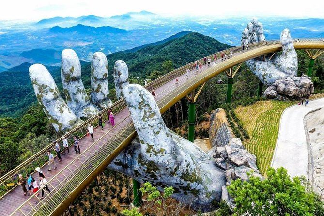 Private Golden Bridge - Ba Na Hills Full Day Tour from Danang