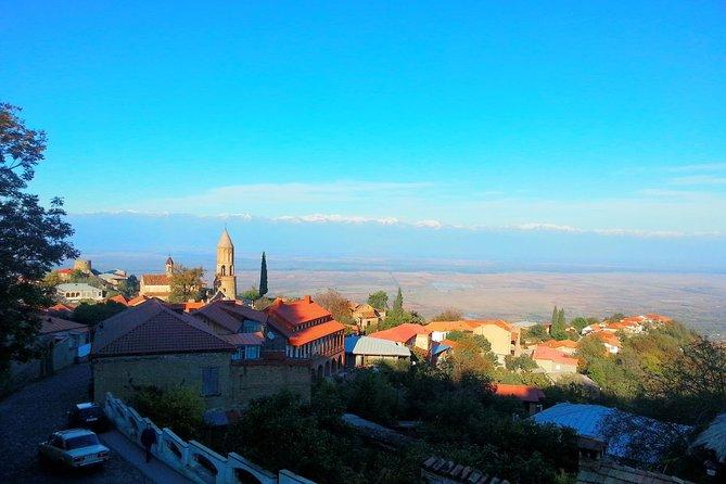 Tour to Kakheti. Sighnaghi –Bodbe Monastery –Tsinandali –Telavi –Winery –Gombori
