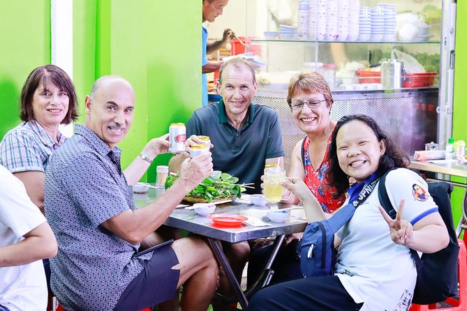 Private Street Food Evening Walking Tour in Ho Chi Minh City