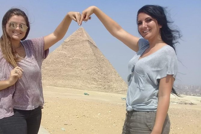 Giza pyramids sphinx from Cairo Giza hotel with expert guide