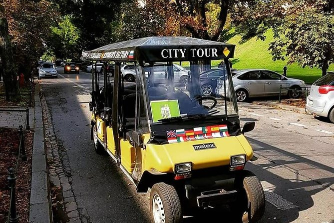 Kraków: Guided City Tour by Golf Buggy (free door to door service)
