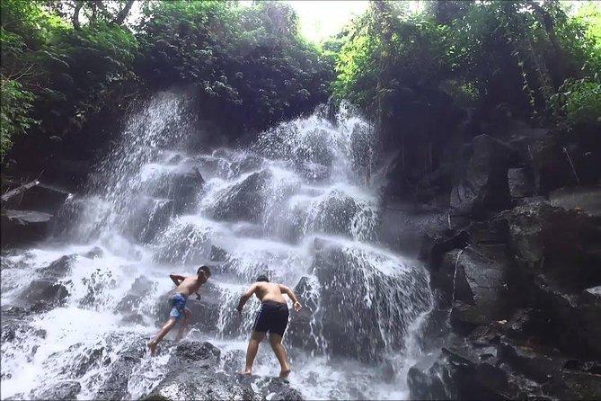 Ayung River Rafting and Bali Best Waterfalls Tour