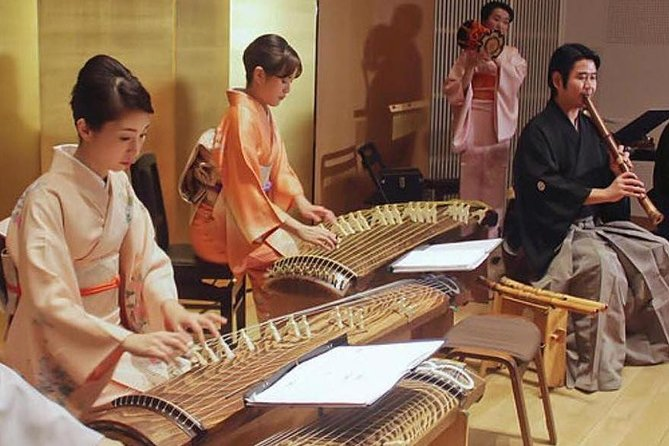 Skip the Line: Japanese Traditional Culture Music Kimono Ticket