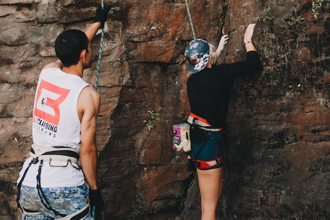 Secret Bali : Guided Rock Climbing day trip