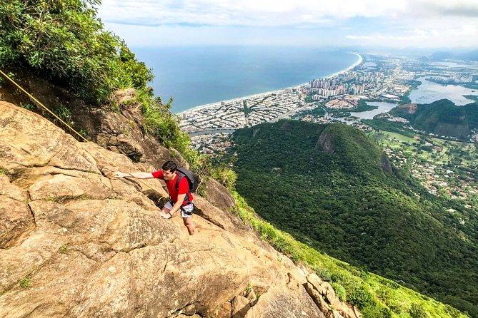 Climb to the top of Pedra da Gavea