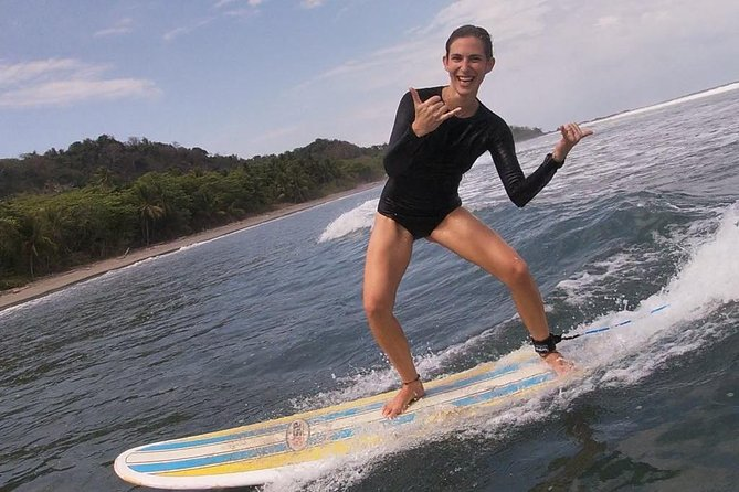 Surf lesson for 3 persons with private surf instructor, photos and videos