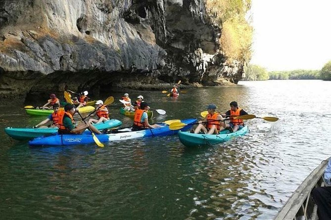 Half Day Tour Sea Cave Kayaking at Khao Karos Krabi