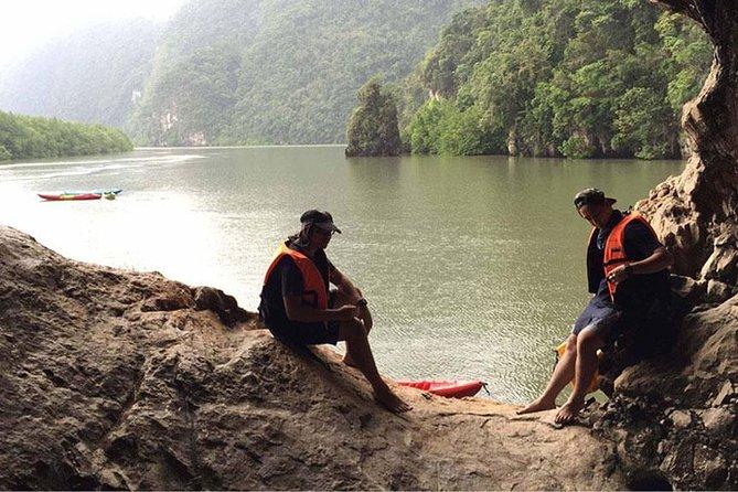 Full Day Tour Sea Cave Kayaking at Khao Karos Krabi