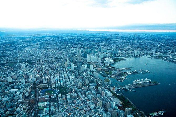 [40 Minutes] Tokyo-Yokohama Tour: Shoreline Helicopter Tour