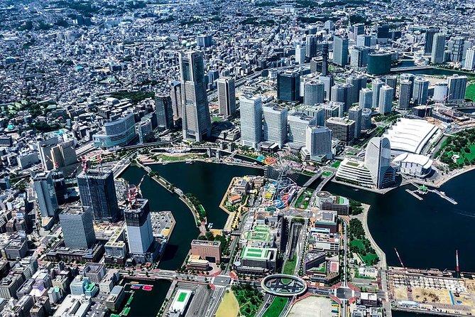 [55 Minutes] Tokyo-Yokohama Tour: Tokyo-Yokohama Shoreline Helicopter Tour