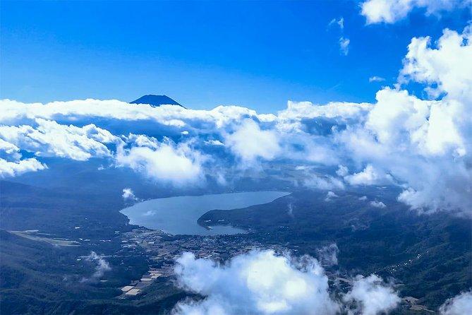[70 Minutes] Tokyo-Mt.Fuji Tour: Mt. Fuji Helicopter Tour