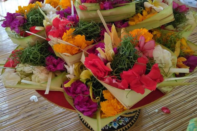 Balinese Offering Making