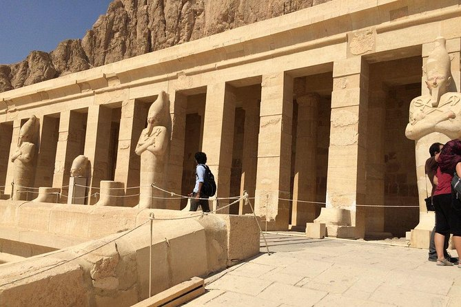 Visit The valley of the kings,Hatschpsut Temple &colossi of Memnon