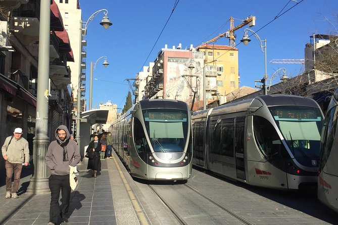 Jerusalem from One End to the Other- By Rail