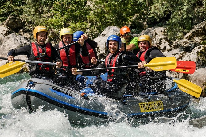 Adventure Whitewater Rafting in Bovec