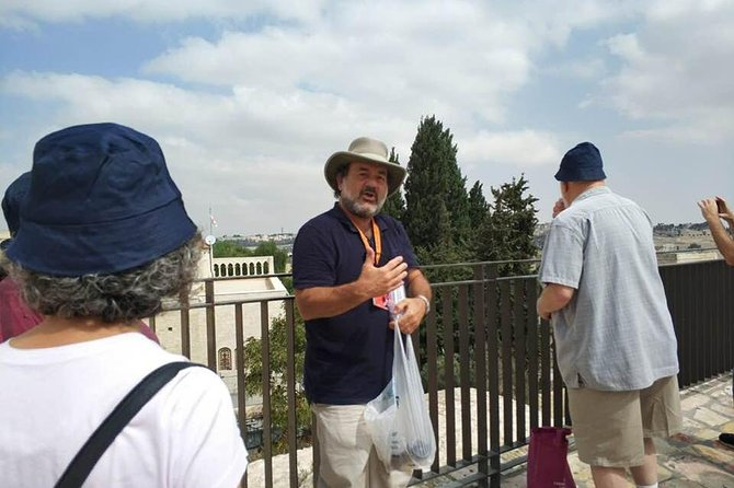Private Tour of Jerusalem with Ed Snitkoff