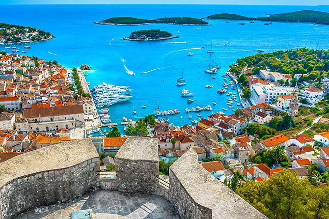Hvar, Brac & Paklinski island Full Day Tour (visit to Golden Horn beach)