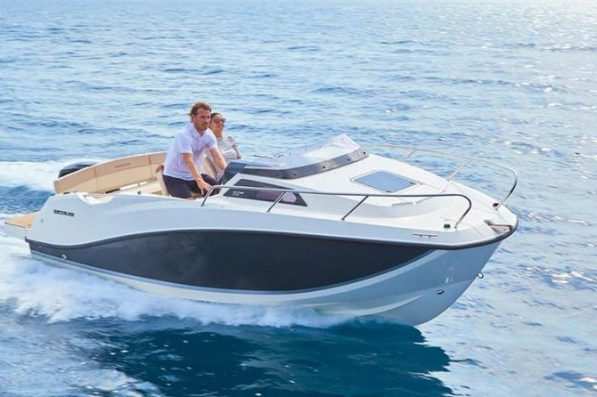 Private Boat Tour on the Côte d'Azur ( Nice - Monaco or Nice - Cannes )
