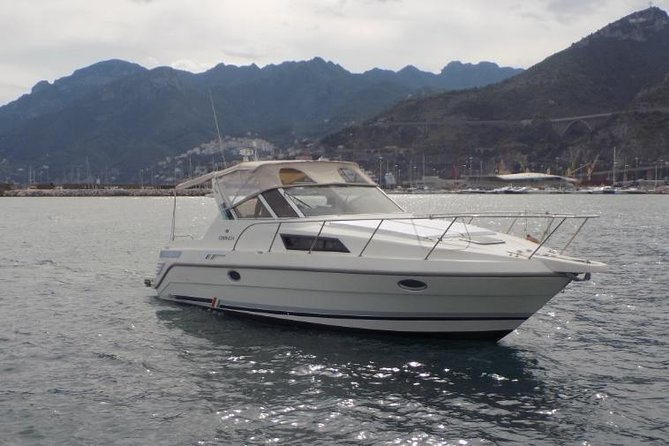 Deluxe Amalfi Coast boat excursion from Salerno