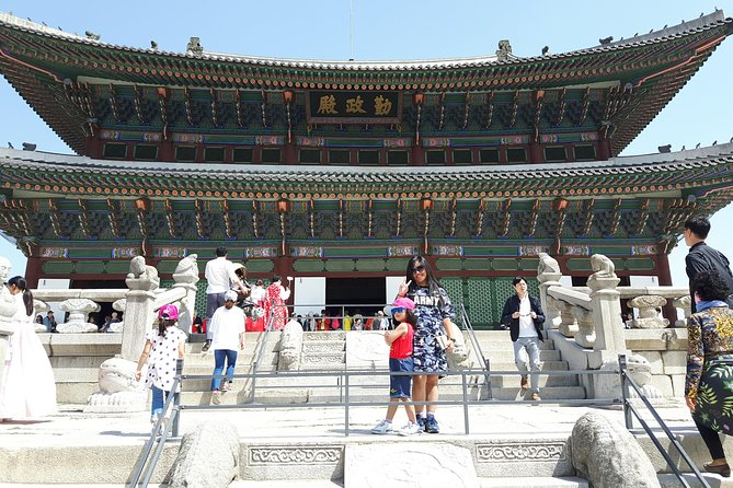 Highlights of Seoul City Tour from Busan via KTX