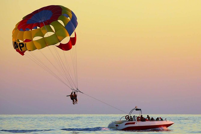 Dubai Parasailing Tour With Private Transfers