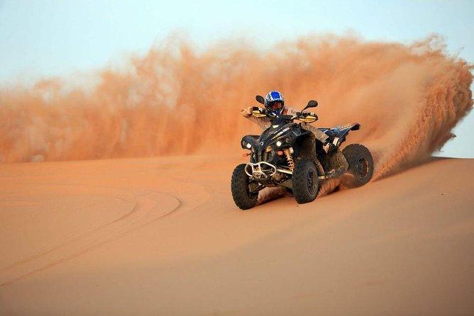 3 Hours Sunset Safari Quad Bike & Camel Ride - Hurghada