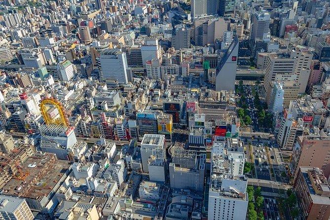 [25 minutes] Cessna cruising Osaka 1 - Touring the Tentenkaku and Old Tombs
