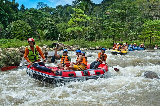 7km White Water Rafting Adventure Tour From Krabi