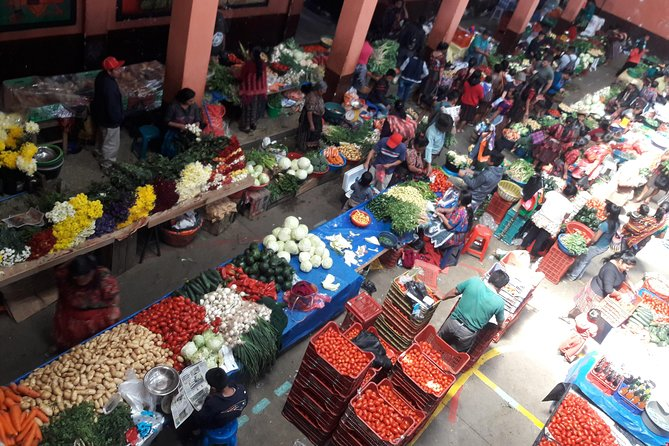 Mercado de Chichicastenango and Lake Atitlan