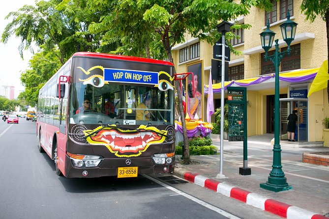 Bangkok Hop on Hop off Bus Tour ,Bangkok Sightseeing Tour by Giants City Tour