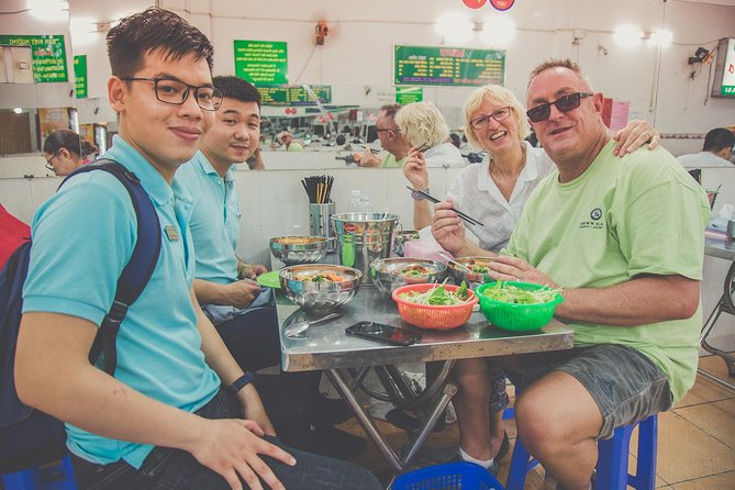 Private Street Food & City Tour By Motorbike With Student