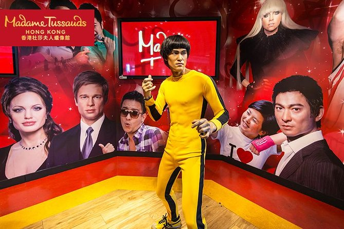 Madame Tussauds Hong Kong Ticket With Airport Collection
