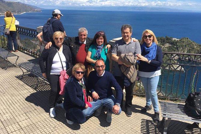 Taormina Collective Tour from Messina