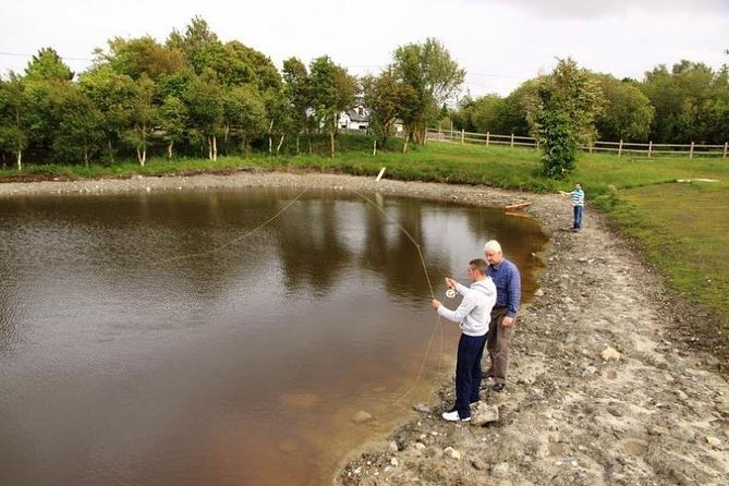 Rainbow trout fishing for beginners. Oughterard, Connemara. Full day