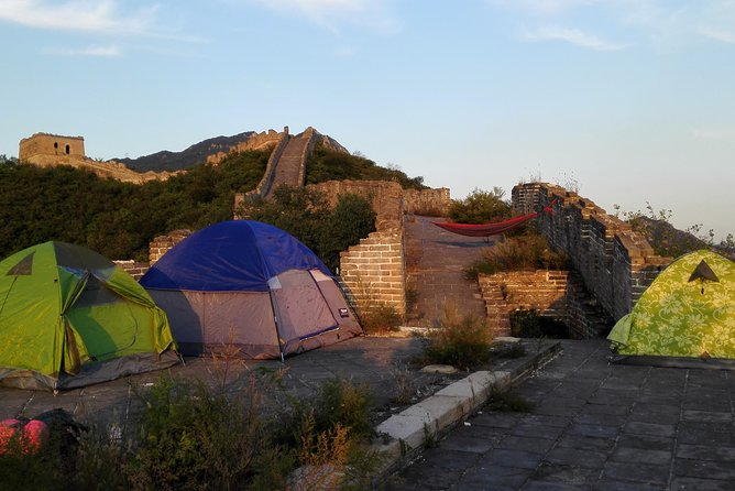 Private Wild Great Wall Overnight Camping tour at Huanghuacheng