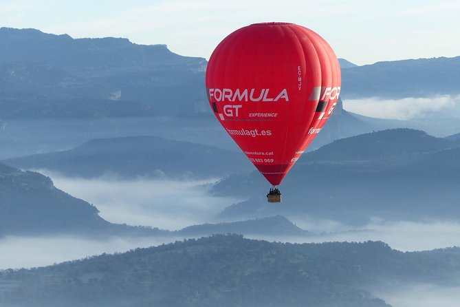 Barcelona Hot-air Balloon Experience with a rich Catalonian breakfast