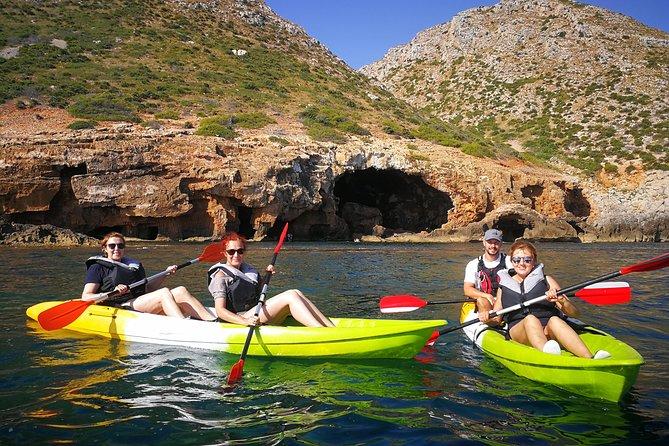 "Kayak Dénia ""Cova Tallada"" + Snorkeling + Speleology"