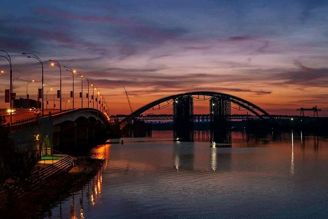 Private Party tour around night Kyiv by car