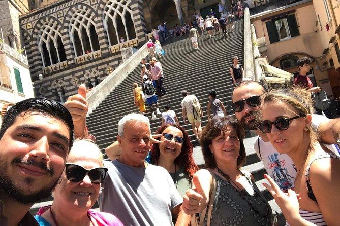 Full-day Amalfi Coast Tour Discover Ravello Amalfi with Positano with guide