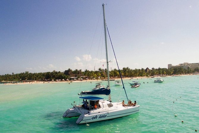 Full-Day Sailing Adventure with transportation from Cancun