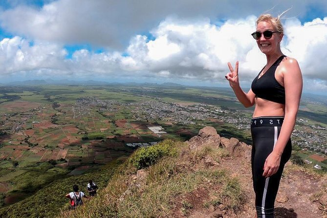 Hiking Le Pouce Mountain - 3rd Highest Mountain in Mauritius