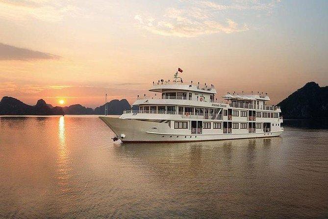 Athena Luxury Cruise: 2-Day Explore Bai Tu Long Bay With Transfer From Hanoi