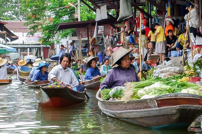 Private Tour: Damnoen Saduak Floating Market from Bangkok (Multi Languages)