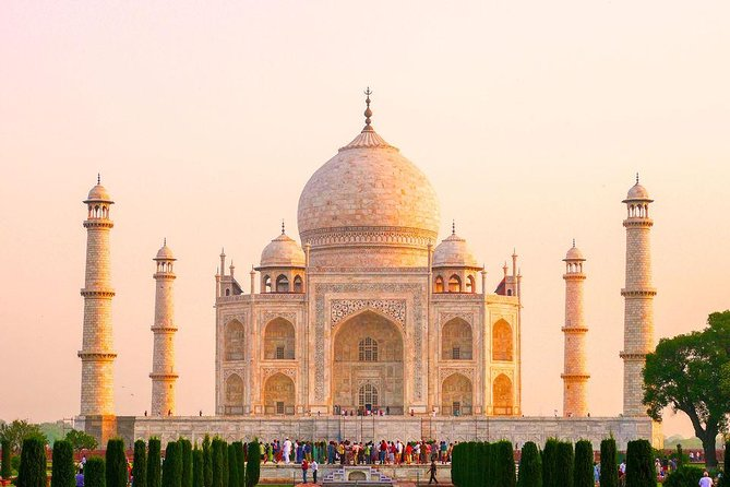Taj Mahal Day Trip from Jaipur Ending in Delhi