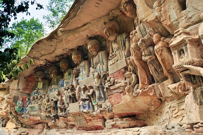 Day Tour: Incredible Ancient Dazu Rock Carvings in Chongqing